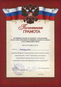 грамота_настольный теннис_2018_1