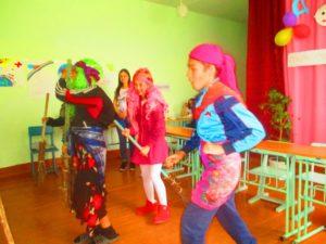 танец Баб-ЯГ