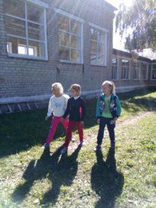 на старте вторая группа девочек