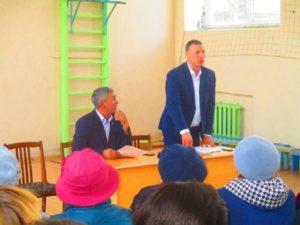 выступление заместителя главы Администрации района по социальным вопросам