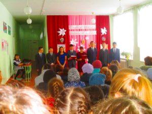 организаторы мероприятия - 8 класс