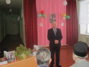 выступление председателя районной организации ветеранов