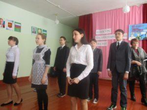 выступление 8 класса