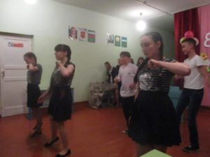 танец 8 класса