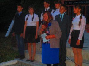 выступление председателя ветеранов деревни