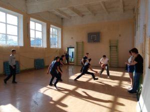 старшие класс: баскетбол