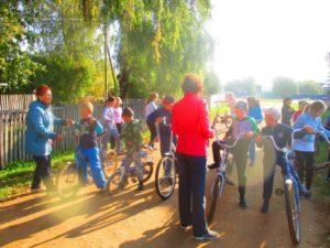 начальные классы: перед велозабегом