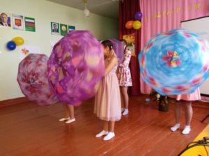 танец зонтиков