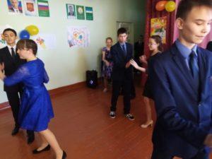 танец 8 и 9 класса
