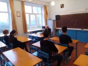 10-11 классы встреча с ветераном труда